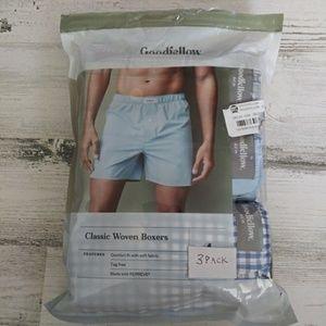 Goodfellow & Co Underwear & Socks - Goodfellow & Co classic boxers 4pk L